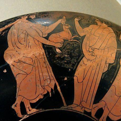 Znalezione obrazy dla zapytania zając sztuka starożytna