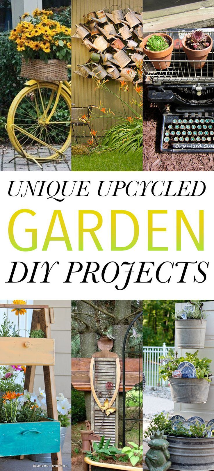 Garden decor crafts   best Projects to try images on Pinterest  Home ideas Homes and