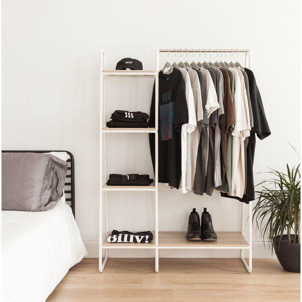 You'll love the 39.8″ Metal Garment Rack at Wa…