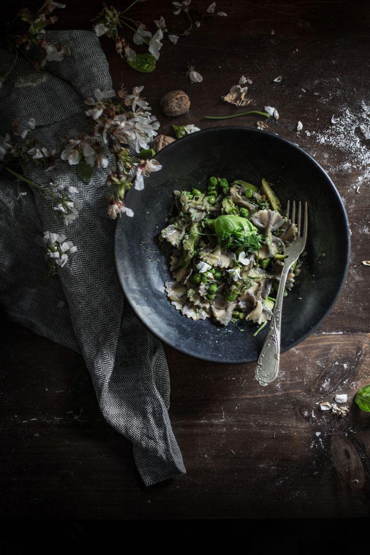 How to Make Vegan, High Protein Hemp & Chickpea Pasta { Farfalle, Maltagliati } | Hortus Natural Cooking