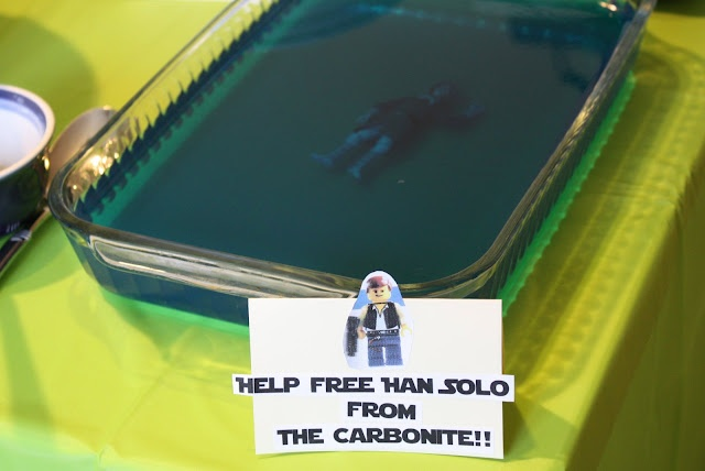 Help free Hans Solo from the carbonite!