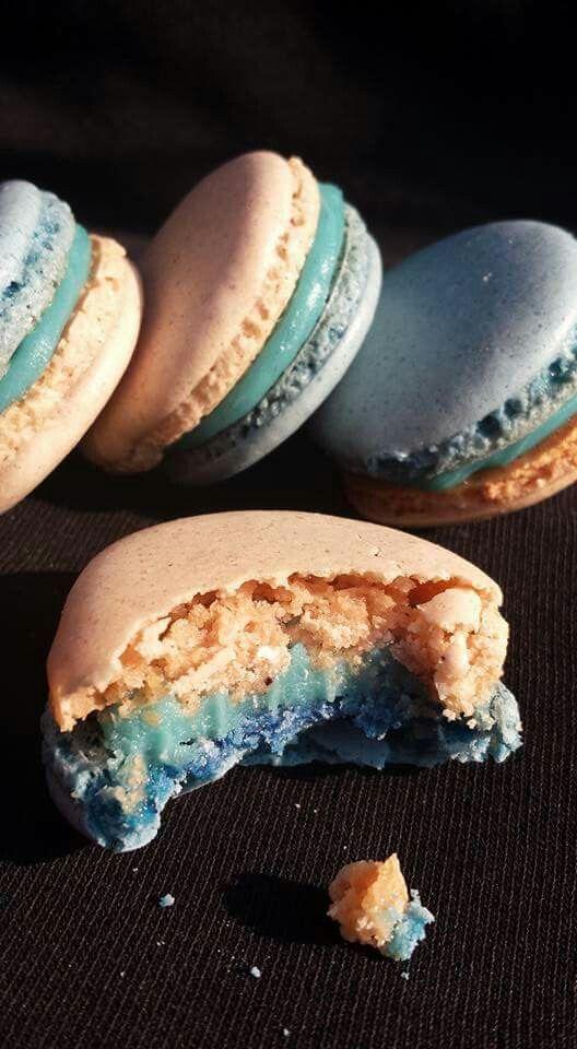 Macaroniki z Blue Curaçao Макароны с Blue Curaçao