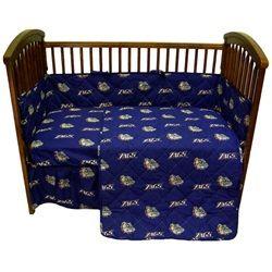 Gonzaga University Bulldogs 5 Piece Baby Crib Bedding Set