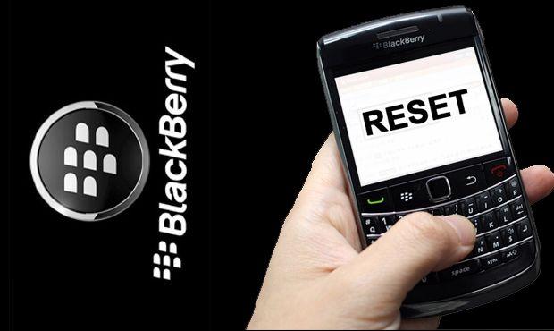 Cara Reset Blackberry Dengan Mudah dan Aman