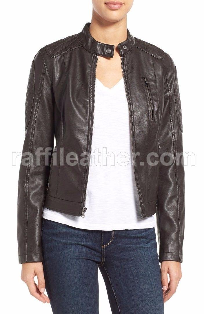 Jaket Kulit Wanita » Jaket Kulit Wanita RFW 254 • www.raffileather.com Jual Jaket Kulit Asli Garut Murah & Berkualitas