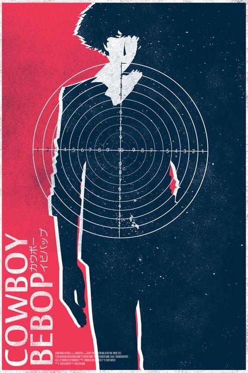 Cowboy Bebop/ poster design by Mikhail Sebastian