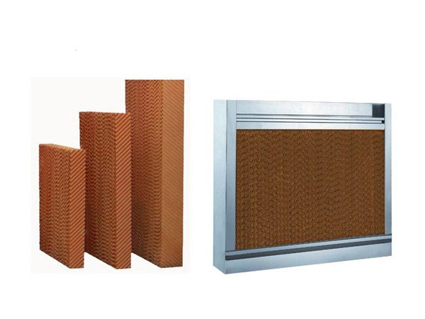 Honeycomb Filter Cell Cooling Pad Price Greenhouse Water Air Honey Comb Paper Evaporative Cooling Pad For Poultry Farm Houses Poultry Farm Honeycomb Greenhouse