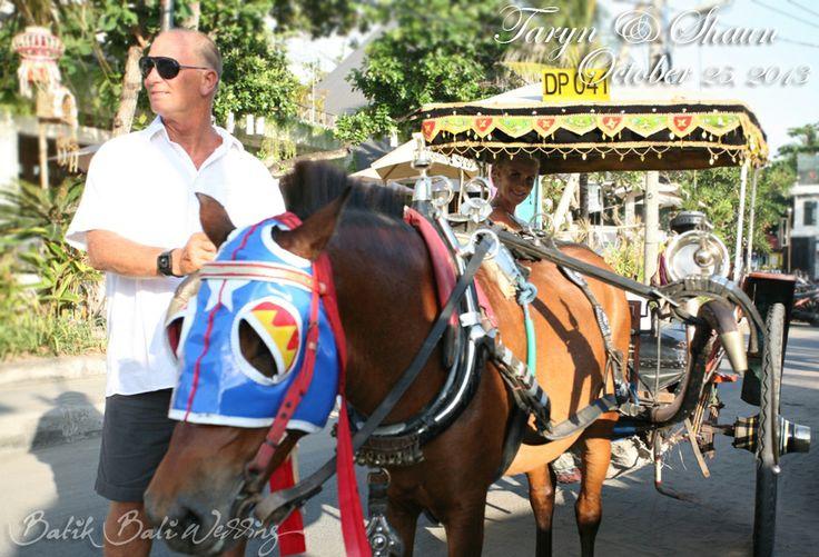 horse carriage make it so unique....