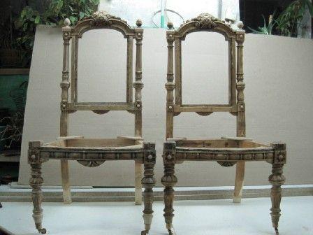 Старые стулья в новой жизни. | | Винный дом Каудаль