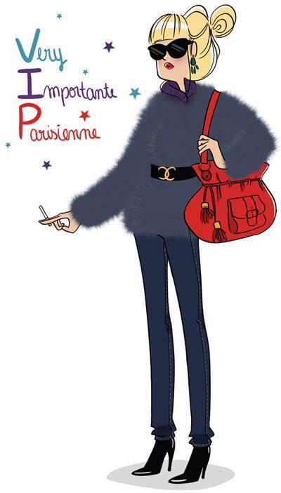 200 best images about magalie foutrier on pinterest - Dessin parisienne ...