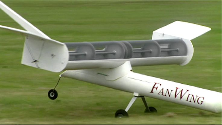 The FanWing is a distributed-propulsion aircraft with a trapped vortex inside the rotor cage. A cross-flow fan near the leading edge of the wing transfers th...