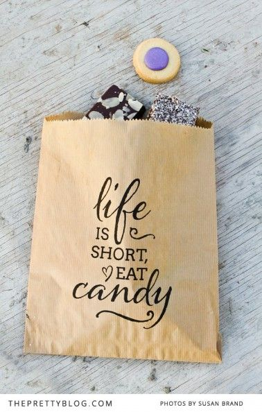 candy bags to match the candy keg. Candy World – Free Printable