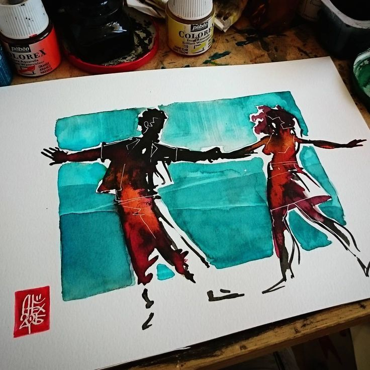 Please take a look at my crowdfunding campaign :  https://www.patreon.com/alexillustrateur #capoeira #free #painting #illustration  #forro #brasil #Brazilian #dance #dancing