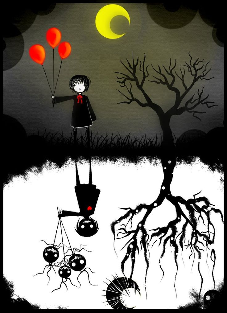 ✯ Creepy Shadow .. By *CuteReaper*✯.   Wouldn't it be nice if people could see ur heart before judging the outside.