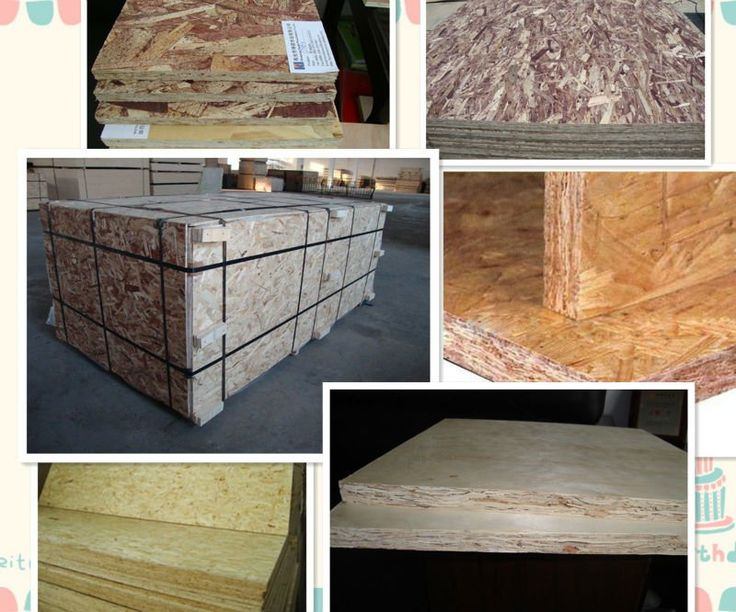 Osb oriented strand board mm for