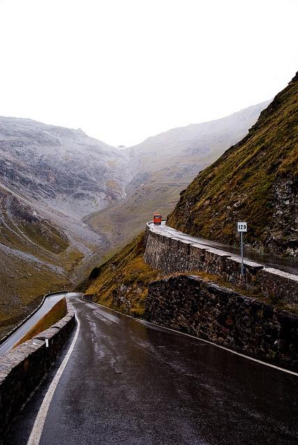 Stelvio Road, Alps by A*J*P, via Flickr