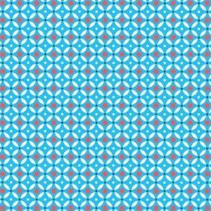 sol! ATW - Dalle adhésive VINTAGE - BLUE STARS - Lot de 11 dalles
