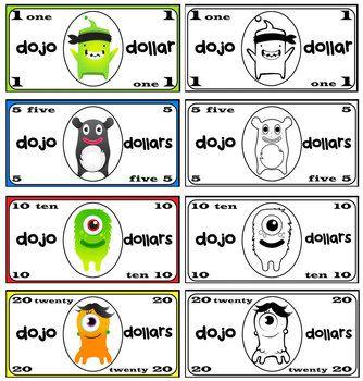 Class Dojo Rewards Pack