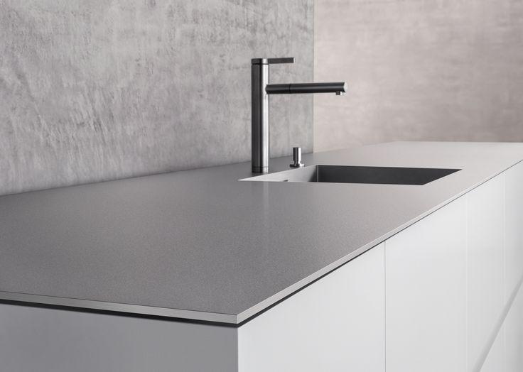 arbeitsplatte küche keramik oder granit