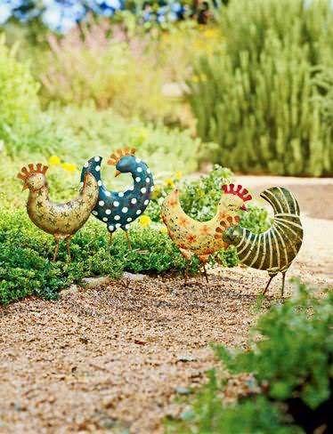 Сочные Жизнь: Идеи для сада - украшения, Пути, Мандалы, Талавера Керамика, вазы и больше вдохновения