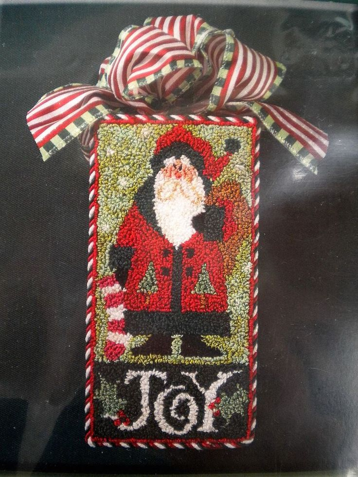 """Lizzie Kate Punch Needle """"Santa""""                                                                                                                                                                                 More"""