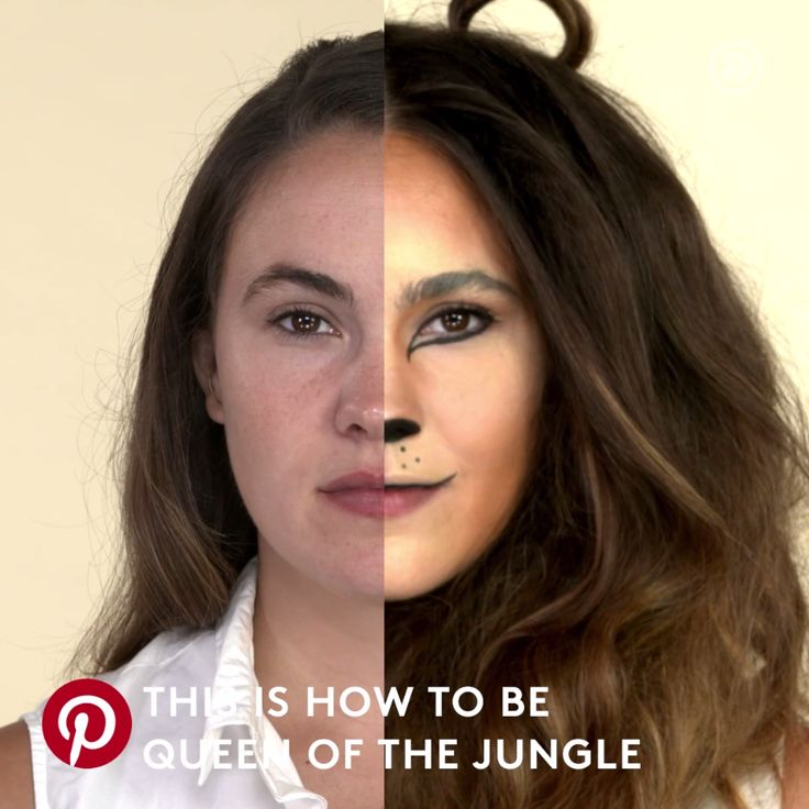 The purrrrfect lion Halloween costume in just a few easy steps!