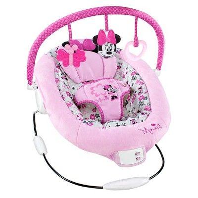 Disney Minnie Garden Delights Bouncer, Light Pink/White/Pink