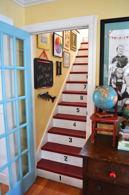 Cozy, happy, inspiring family homeChild Room, The Doors, Home Tours, Blue Doors, French Doors, Basements Stairs, Basements Ideas, Home Made, Doors Colors