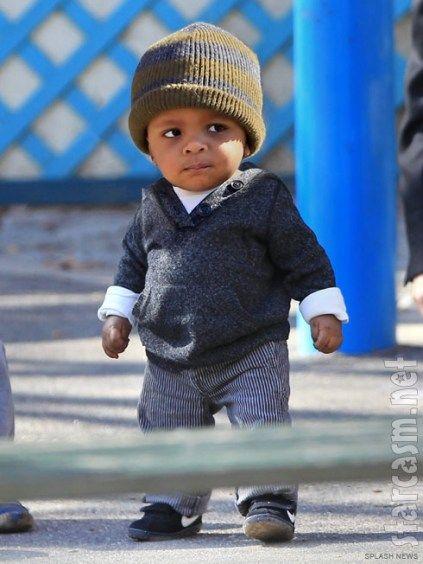 sandra bullock's little guy - he's a lil man!!!
