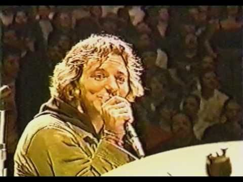 Pearl Jam - Last Kiss (Bridge School '99) Dedicates and sings this song to one of the Bridge School kids.  Sweetest thing ever.  Notice how he holds and is rubbing the little boys hand at the end.  Says it all about a person, doesn't it?