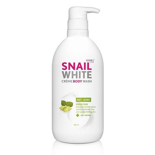 Snail White Creme Body Wash 500ml Anti-Aging