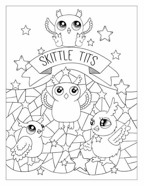 Free Sweary Coloring Pages Edwina Mc Namee