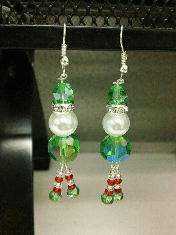 DIY Christmas Elf Earrings Idea | NO LINK