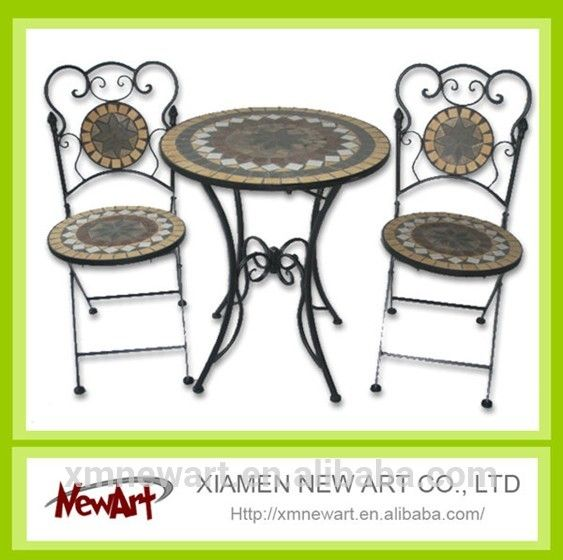 2016 Patio Mosaic Tile Metal Garden Table And Chair Cheap Outdoor Cast Iron Garden  Furniture   Buy Garden Furniture,Cheap Outdoor Garden Furniture,Cast Iron  ...