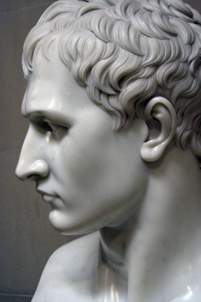 Antonio Canova - Napoleon as Mars the Peacemaker - Detail of the Head