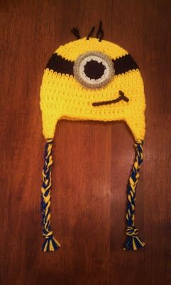 cute, warm minion beanie preferably for children.