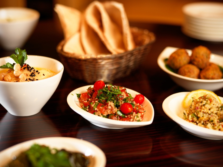 Jumeirah Frankfurt Hotel - Restaurants - Mixed Arabic Starters