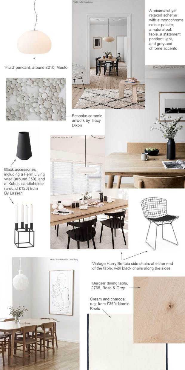 My Minimalist Yet Warm Dining Room Makeover Mood Board Plans These Four Walls Minimalist Dining Room Dining Room Contemporary Warm Dining Room