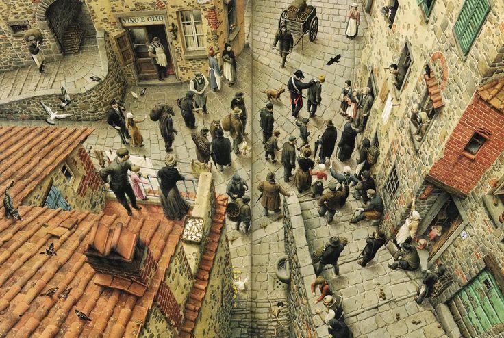çizgili masallar: Roberto Innocenti,The Adventures of Pinocchio-Part 1: