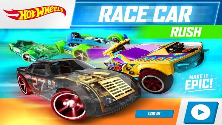 Хот Вилс Игры Гонки Мультики про Машинки Hot Wheels Race Car Rush