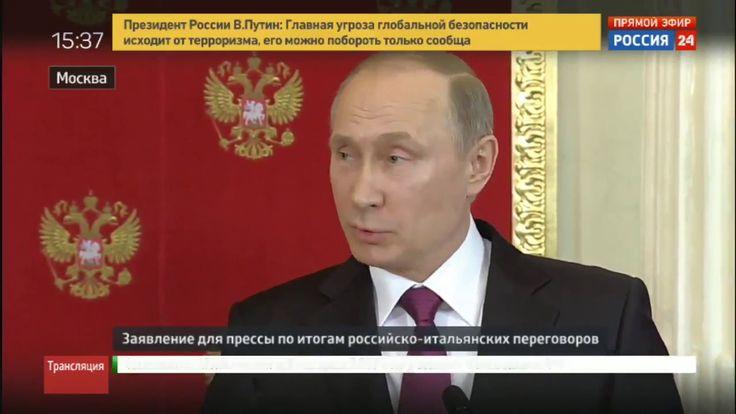 Vladimir Poutine sur la Syrie : les Etats-Unis rejouent la même comédie ...