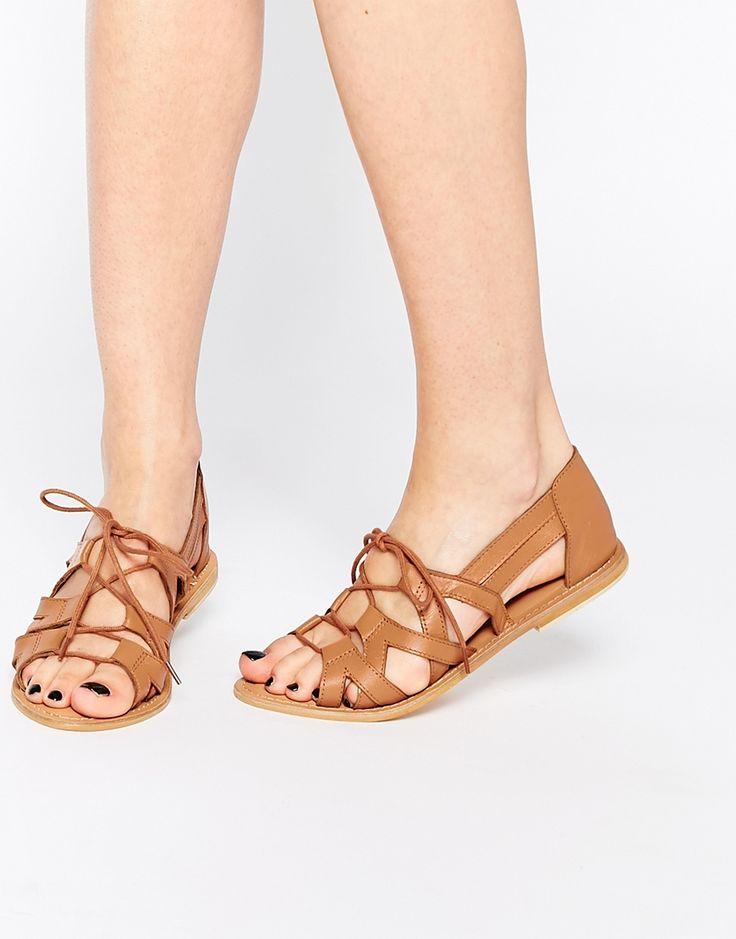 Imagen 1 de Zapatos de cuero con cordones JUMP UP de ASOS