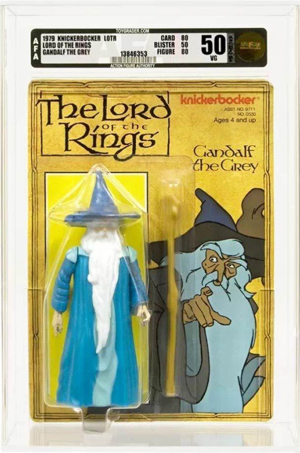 Les figurines rétro Seigneur Des Anneaux en 1978
