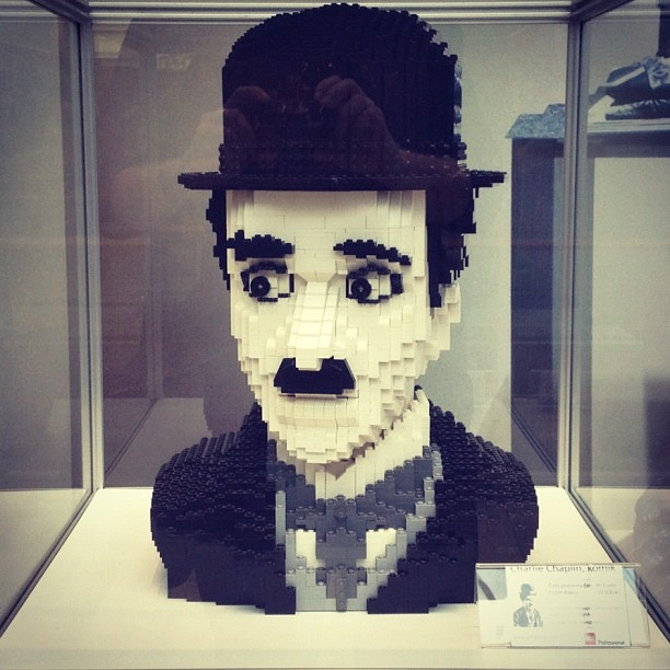 LEGO exhibition in Aupark shopping centre, Kosice, Slovakia