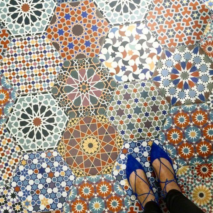 ▷ 1001 + idées pour décorer l\'espace avec le sol vinyle ...