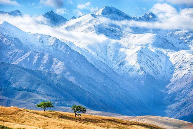 Landscapes of Kyrgyzstan - Krajobrazy Kirgistanu - Пейзажи Кыргызстана