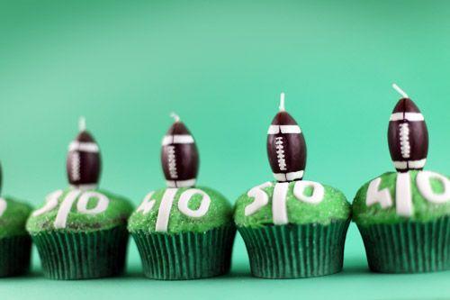Football - Superbowl Cupcake Ideas