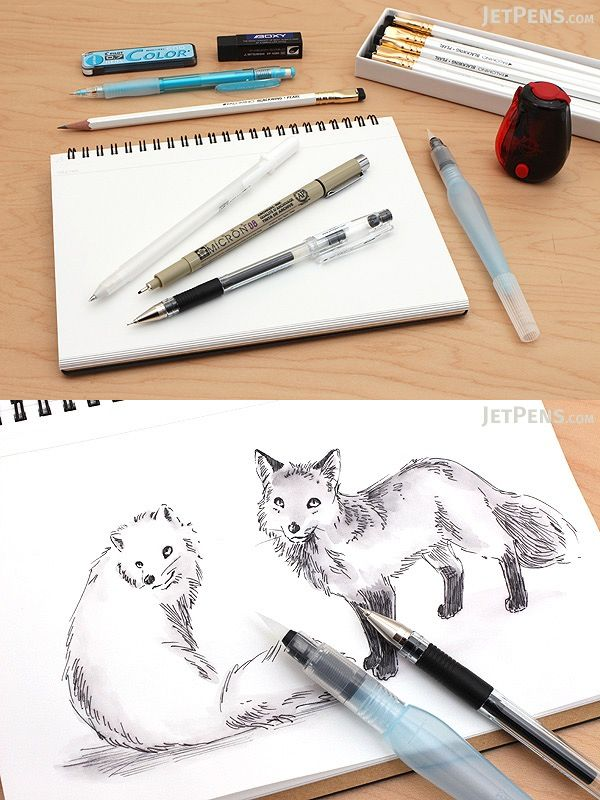 The jetpens sketch starter kit is a collection of versatile tools that will transform your ideas