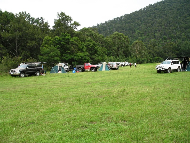 Bendethera Valley camping area in the Deua National Park in south-east New South Wales.