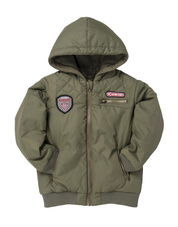 Badge Detail Styled Jacket